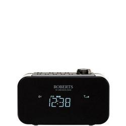 Ortus 2 Alarm Clock Radio Black