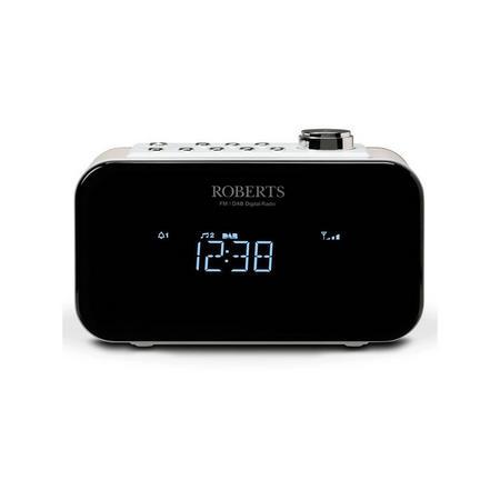 Ortus 2 Alarm Clock Radio White