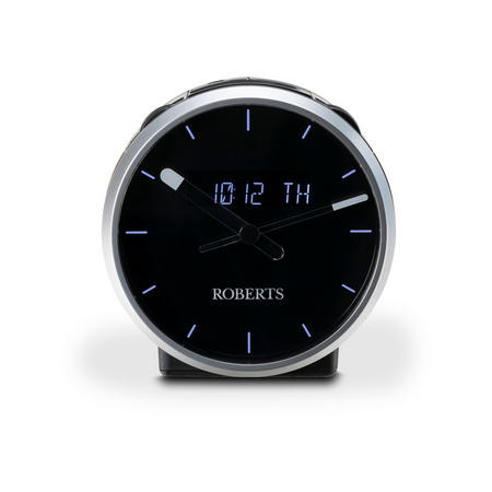 Ortus Time Dab/Dab+/FM Alarm Clock Radio Black