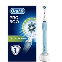 Oral-B Pro 600 Cross Action Electric Toothbrush Rechargeable