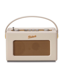 Pastel Cream 'Revival' Retro Portable Radio Cream