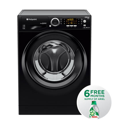 Ultima 9 kg Washing Machine 1400 Spin Black