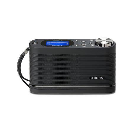 Stream104 Wi Fi Dab Dab+ FM Rds Black Internet Radio Black