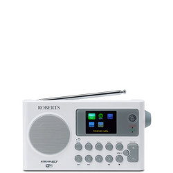 Stream107 Dab/FM Wi Fi Internet Radio White