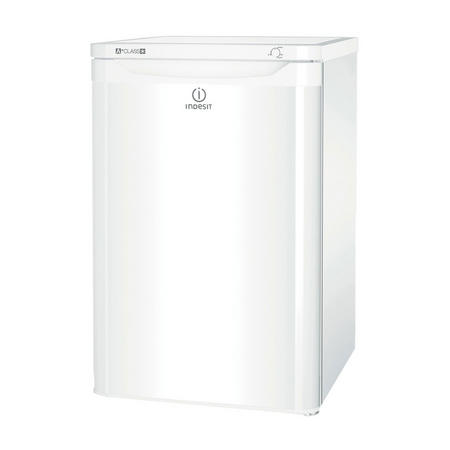 55cm Undercounter Fridge with Ice Box White Finish White