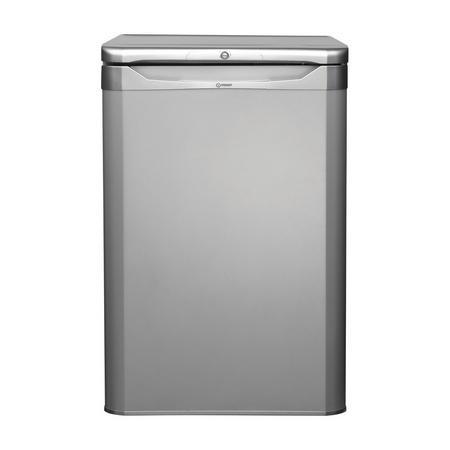 55cm Undercounter Freezer Silver Finish