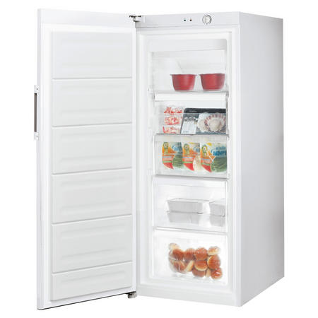 60cm Tall Freezer White Finish White