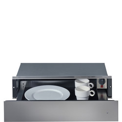 14cm Warming Drawer with Inox Finish Black
