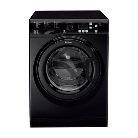 Aquarius 7kg Washing Machine 1400 Spin Black