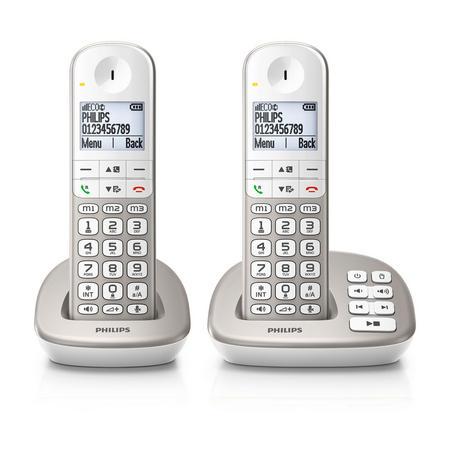 Backlight Corded Speakerphone White