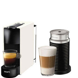Essenza Mini With Milk Frother White