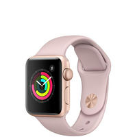 Apple Watch 3 38mm Gold Pink Sand Band