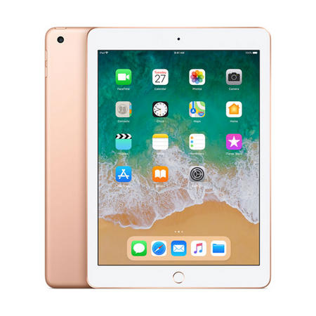"NEW Apple iPad 9.7"" 128GB Gold"