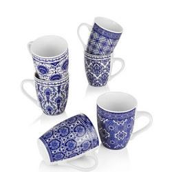 Mosaic Set of Six Mugs