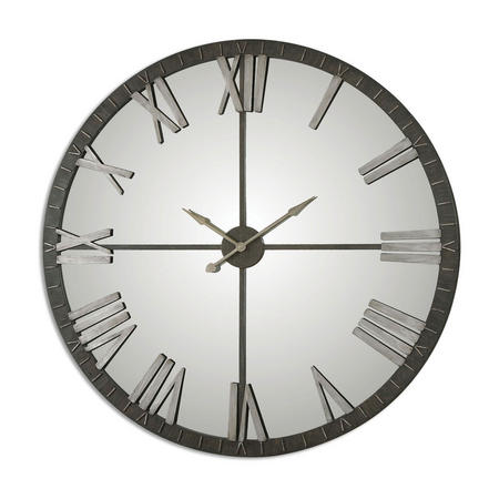 Amelie Clock Metal