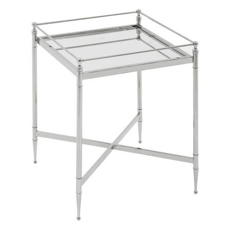 Marlee Side Table Silver-Tone