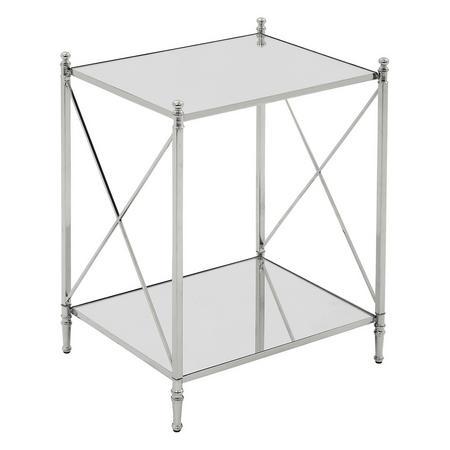 Darla Side Table Silver-Tone