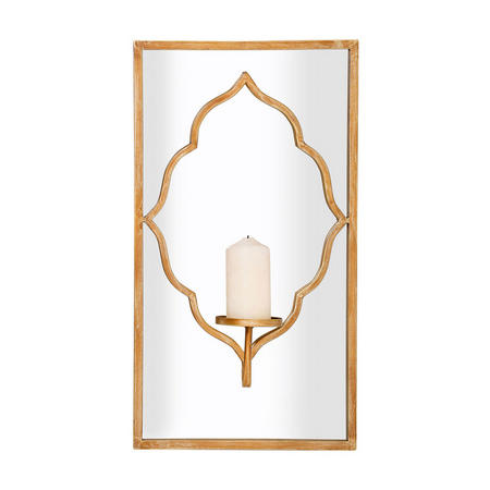 Ursa Mirror Gold-Tone