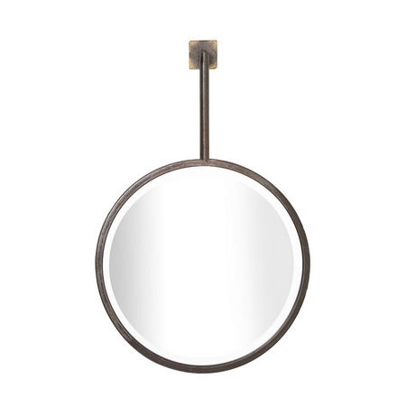 Casey Mirror Single Gold-Tone