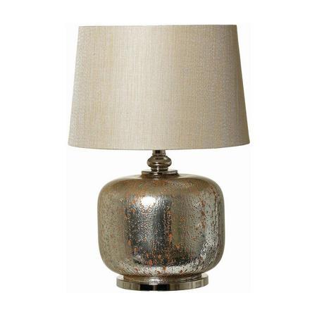 Sadie Lamp Silver / Amber