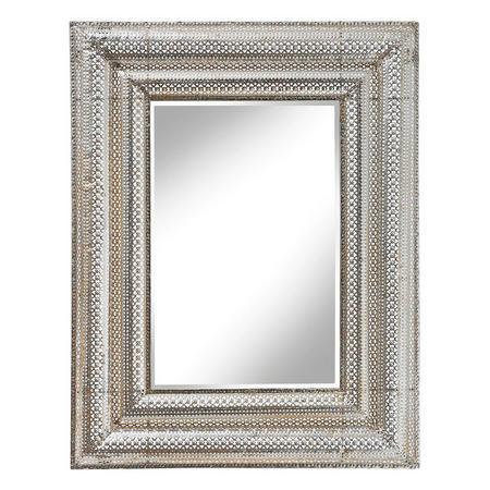 Elise Mirror Gold-Tone