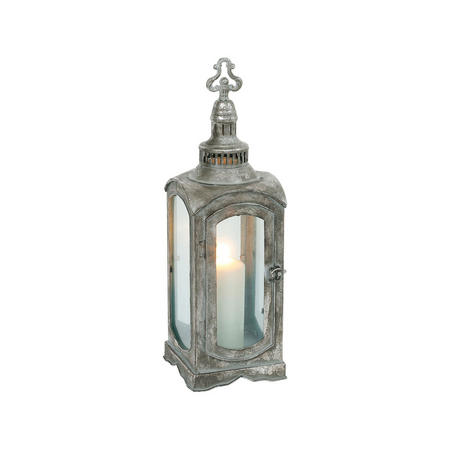 Haze Lantern Small Grey