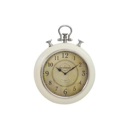 Neila Clock  Cream