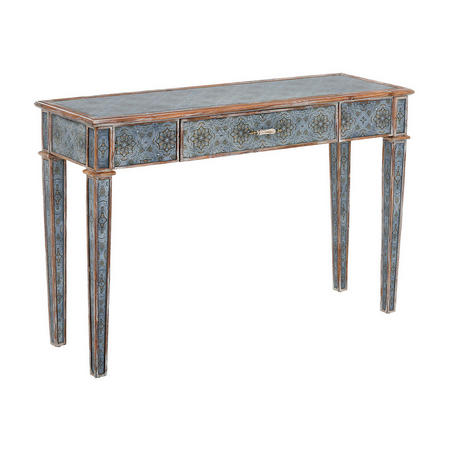 Alisha Console Table Blue