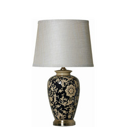 Reese Lamp Black / Gold