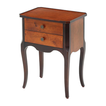 Tayson Side Table Brown