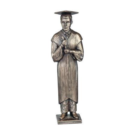 Love Life Your Graduation Male Bronze-Tone