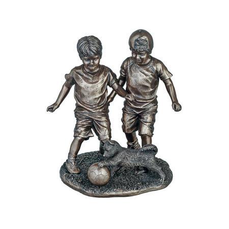The Footballers Bronze-Tone