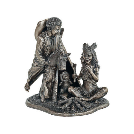 Cowboys & Indians Bronze-Tone