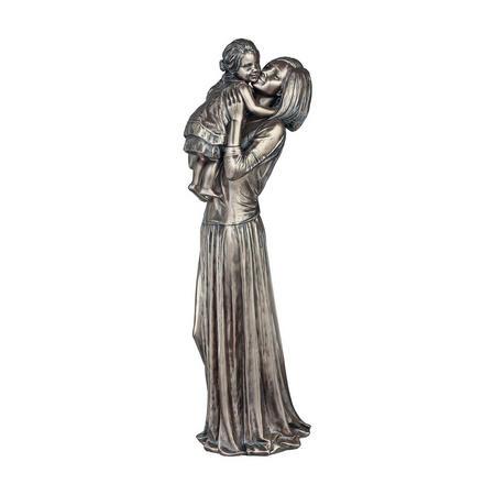 Mother & Child Bronze-Tone