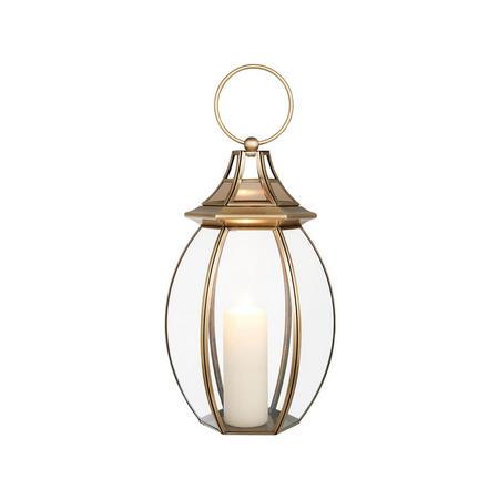Orla Lantern Large  Gold-Tone