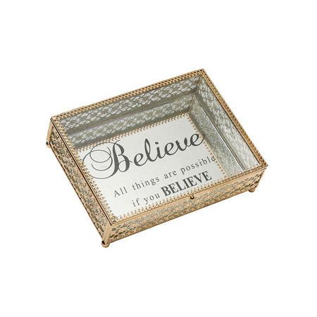 Tanya Jewellery Box  Gold-Tone