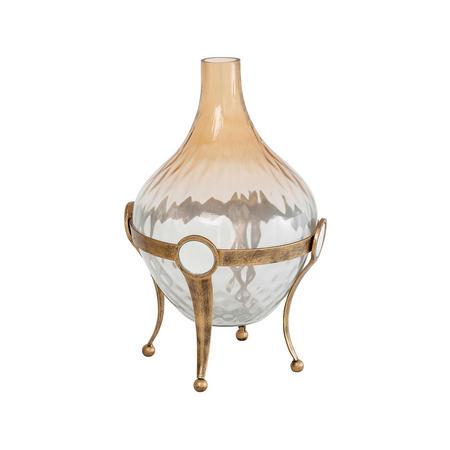 Belva Vase  Gold-Tone
