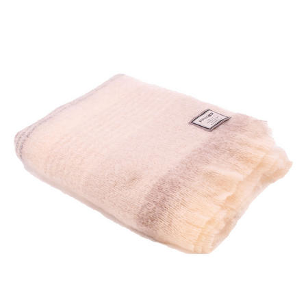 Classic Ombre Stripe Mohair 4258C3 Throw