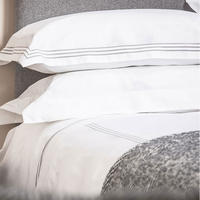 Sateen 3 Row Flat Sheet Silver-Tone
