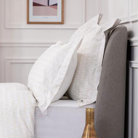 Geometric Oxford Pillowcase
