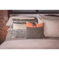 Black Rollino Pair Standard Pillowcase