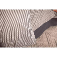 Black Stripe Pair Standard Pillowcase