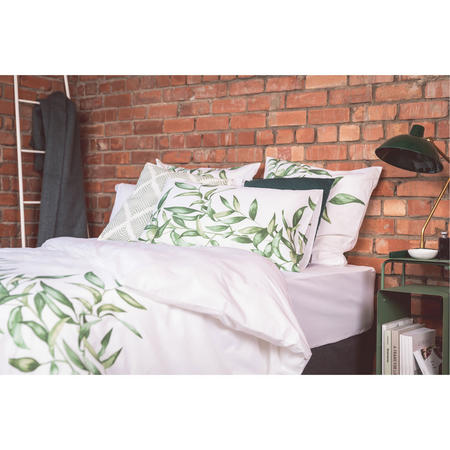Leaf Panel Print Standard Pillowcase