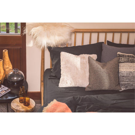 Smoke Cotton/Linen Standard Pillowcase