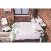White Green Rollino Oxford Pillowcase