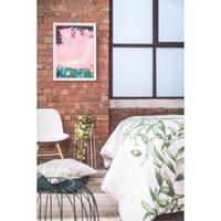 Leaf Panel Print Duvet Cover