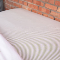 Green Tic Fitted Sheet