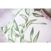 Leaf Panel Print Square Pillowcase