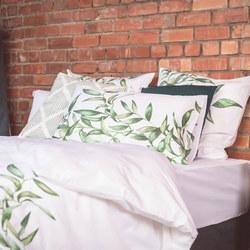 Leaf Panel Print Square Pillowcase