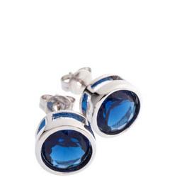 Sapphire Wave Earrings